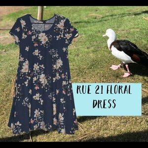 Rue 21 Floral short dress
